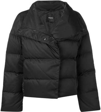 Theory cropped puffer jacket