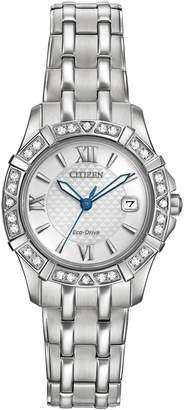 Citizen 26mm Eco-Drive Diamond Bracelet Watch