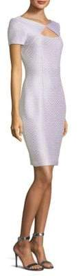 St. John Sequin Sheath Dress