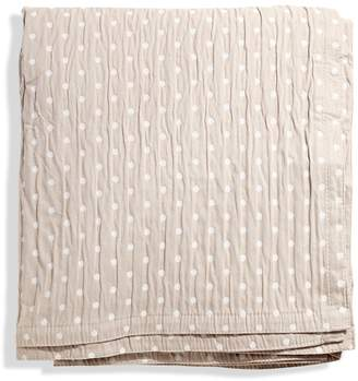 Belle Epoque Relaxed Dots Coverlet