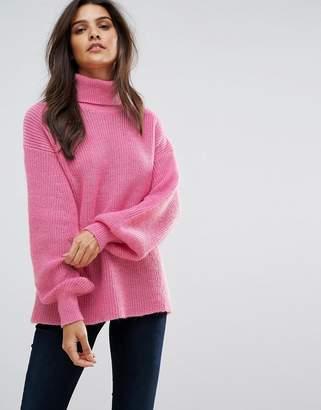 Vero Moda Knitted Roll Neck Jumper