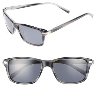 Ted Baker 55mm Polarized Sunglasses