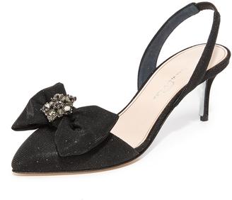 Oscar de la Renta Pamie Slingback Sandals $850 thestylecure.com