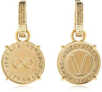 Versace Coin Earrings
