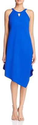 T Tahari Charlie Keyhole Asymmetric Dress $128 thestylecure.com