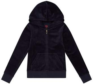 Juicy Couture Velour Swooping Swallows Robertson Hoodie
