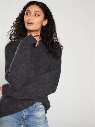 MANGO Long Knit Jumper