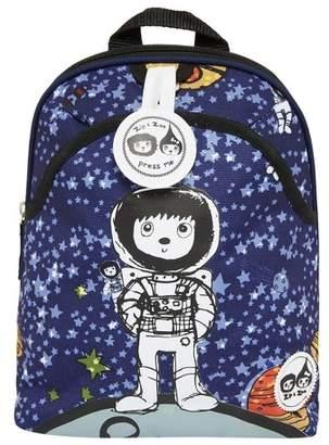 Babymel Zip & Zoe Mini Kids' Backpack & Safety Harness - Spaceman