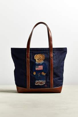Polo Ralph Lauren American Flag Sweater Tote Bag