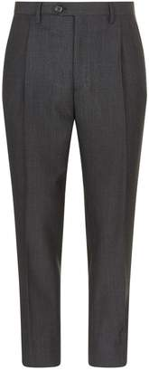Burberry Cropped Check Trousers
