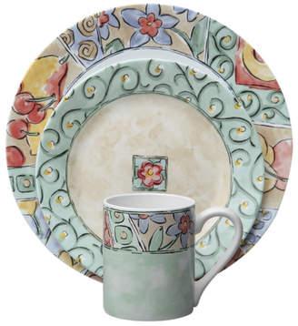 Corelle Impressions Watercolors 16 Piece Dinnerware Set, Service for 4