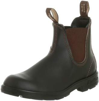 Blundstone 500 Classic Brown Unisex Chelsea Boots, Size 6.5