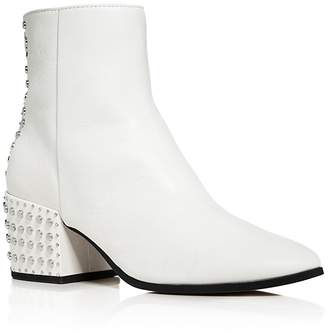 Dolce Vita Mazey Studded Leather Booties $180 thestylecure.com