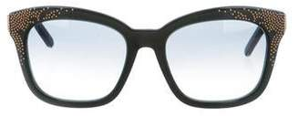 Chloé Embellished Cat-Eye Sunglasses
