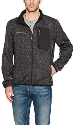Free Country Men's Full Zip Sweater Fleece Jacket