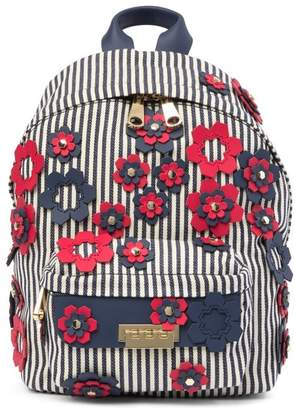 Zac Posen Small Eartha Floral Appliqué Backpack