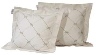 BEIGE Nicolientje Throw Cushion (Beige, 40 X 40 cm)