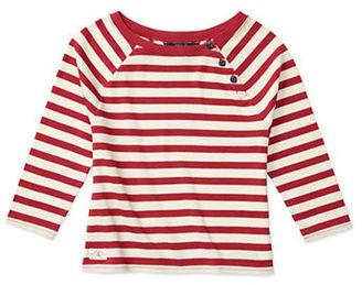 Ralph Lauren Childrenswear Girls 7-16 Striped Top $35 thestylecure.com