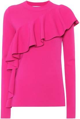 Diane von Furstenberg Frilled sweater