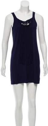 Trina Turk Ruffle Accented Tank Dress