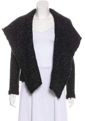 IRO Lierane Leather-Trimmed Jacket