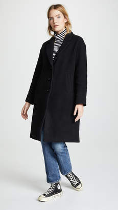 Madewell Long Cocoon Coat