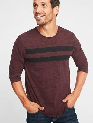 Old Navy Slub-Knit Chest-Stripe Tee for Men
