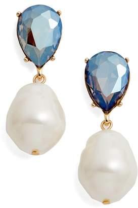Halogen Imitation Pearl Drop Earrings