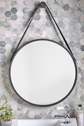 Next Faux Leather Strap Mirror