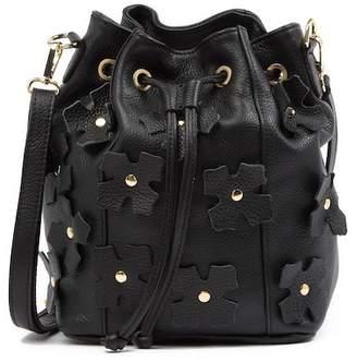 Cina Persaman New York Leather Shoulder Bag