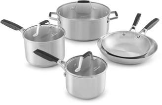 Calphalon Select by Stainless Steel 8-piece Cookware Set
