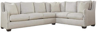 Universal Furniture Curated Connor Sectional Left Arm Sofa Right Arm Corner