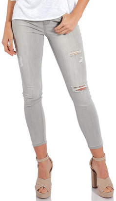 Elan International Grey Distressed Denim