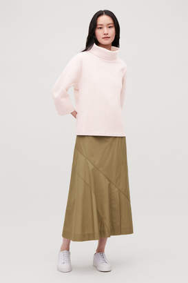 Cos JERSEY WOOL TOP WITH COCOON SLEEVES