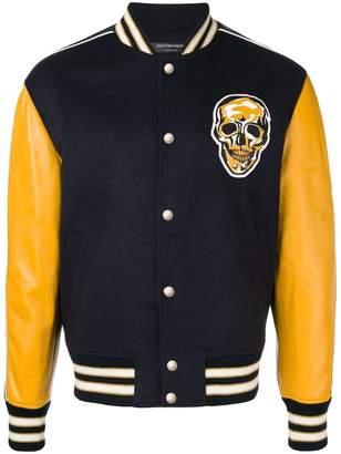 Alexander McQueen skull varsity jacket