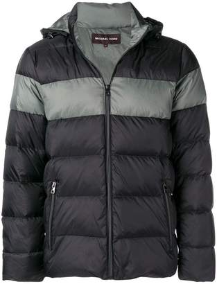 Michael Kors hooded padded jacket