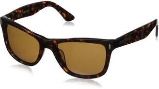 Hang Ten Gold Classic Wayfarer HTG1001 C3 Polarized Round Sunglasses