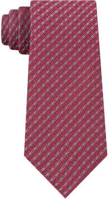 Calvin Klein Men Molten Medallion Slim Tie