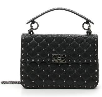 Valentino Medium Rockstud Matelasse Quilted Leather Shoulder Bag