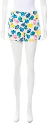 Draper James Printed Mini Shorts