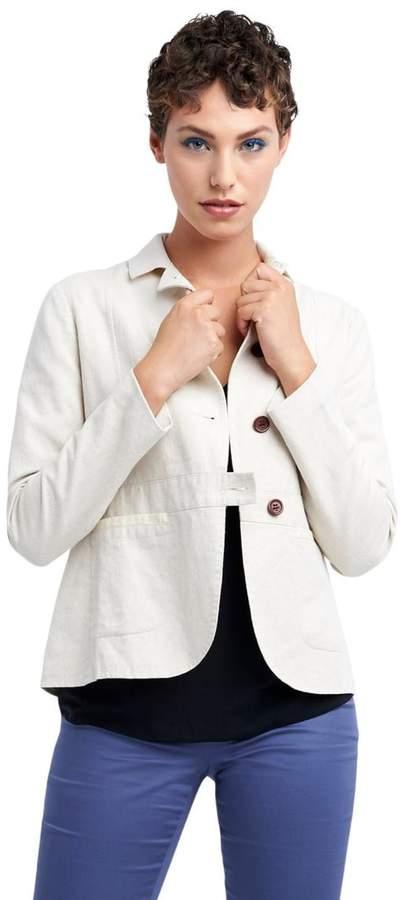 TAGS Woven Linen Jacket