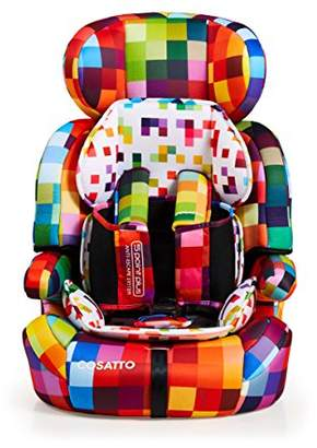 Cosatto Zoomi Pixelate Car Seat, Group 1/2/3