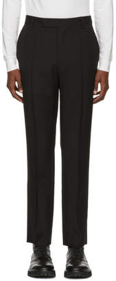 Yang Li Black Slim Trousers