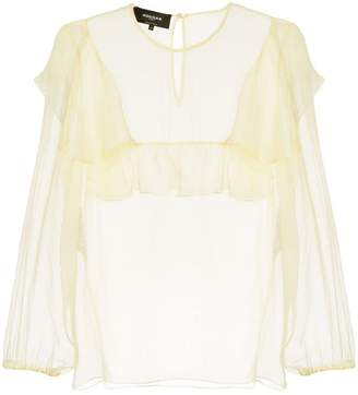 Rochas ruffled blouse