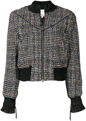 3.1 Phillip Lim tweed bomber jacket