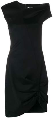 Helmut Lang asymmetric fitted dress