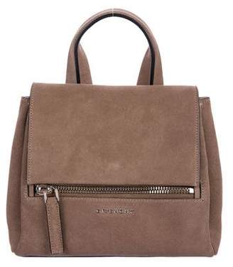 Givenchy Mini Suede Pandora Pure Satchel