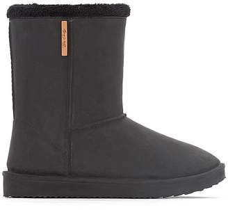 83f7e0ba5af9 BeOnly BE ONLY Cosy Fur-Lined Boots
