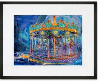 GreenBox Art 'Carousel at Night' Graphic Art Print