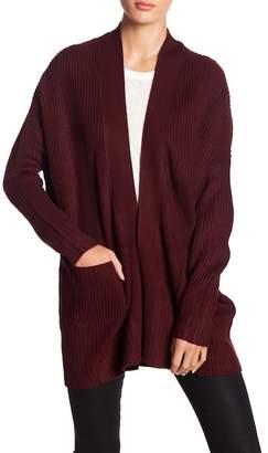 Wishlist Shawl Collar Knit Cardigan